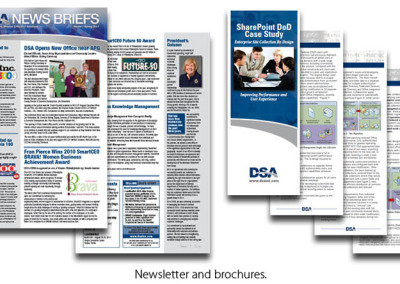 Newsletters & Brochures