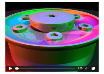 Seagate Disc Drive Detail Animation