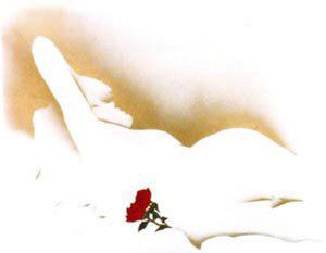 Woman & Rose