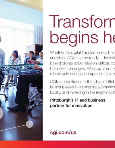 CGI Pittsburgh Tech Council Magazine Ad _ 8 x 5