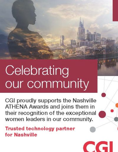 Nashville ATHENA Awards Ad