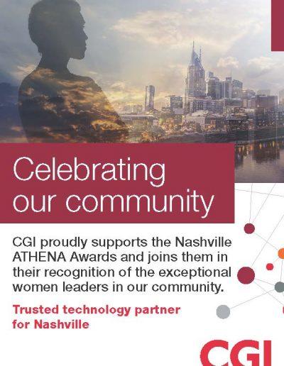 Nashville ATHENA Awards Ad
